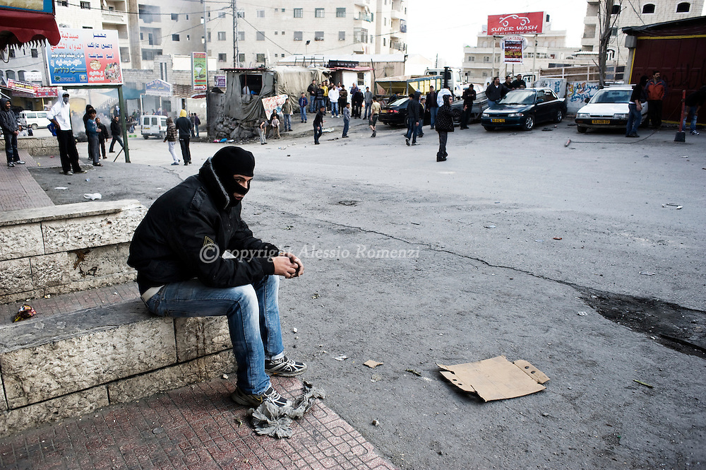 .Shufat refugee camp of Jerusalem, on March 19, 2010. Tensions remained high in Jerusalem and the West Bank as the Quartet for the Middle East urged Israel to stop building settlements and set a target for a final deal with the Palestinians within two years. © ALESSIO ROMENZI