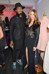 MASON SMILLIE and MILLIE MACKINTOSH at the Cointreau launch for Yumi by Lilah Parsons SS/16 collection held at 15 Bateman Street, London on 1st December 2015