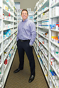 Photos taken of Dale Wollschleger at Exactcare Pharmacy in Valley View, Ohio on September 23, 2014.