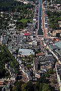 Nederland, Drenthe, Assen, 08-09-2009; centrum van de stad, gezien naar de Vaart (verlengde Drentsche Hoofdvaart).City centre.luchtfoto (toeslag); aerial photo (additional fee required); .foto Siebe Swart / photo Siebe Swart