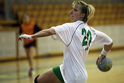 Vesna Pus of Olimpija at  handball game between women team RK Olimpija vs ZRK Brezice at 1st round of National Championship, on September 13, 2008, in Arena Tivoli, Ljubljana, Slovenija. Olimpija won 41:17. (Photo by Vid Ponikvar / Sportal Images)
