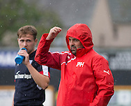 Dundee manager Paul Hartley - Alloa Athletic v Dundee, pre-season friendly at Recreation Park, Alloa<br /> <br />  - &copy; David Young - www.davidyoungphoto.co.uk - email: davidyoungphoto@gmail.com