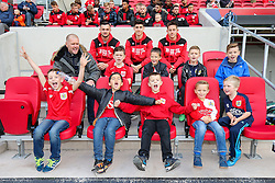 Diego De Girolamo, Callum O'Dowda and Josh Brownhill meet the fans - Rogan Thomson/JMP - 22/10/2016 - FOOTBALL - Ashton Gate Stadium - Bristol, England - Bristol City v Blackburn Rovers - Sky Bet EFL Championship.