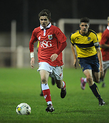 Bristol City's Tom Fry  - Photo mandatory by-line: Joe Meredith/JMP - Mobile: 07966 386802 - 05/11/2014 - SPORT - Football - Oxford - Loop Meadow Stadium - Oxford United v Bristol City - FA Youth Cup