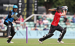 Leicestershire's Colin Ackermann during the North Group match of the Royal London One Day Cup at New Road, Worcester.