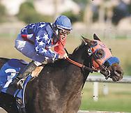 18 year old jockey Ryan Eikleberry at Turf Paradise race track.