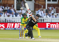 June 29, 2019 - London, United Kingdom - Jimmy Neesham of New Zealand.during ICC Cricket World Cup between New Zealand and Australia at the Lord's Ground on 29 June 2019 in London, England. (Credit Image: © Action Foto Sport/NurPhoto via ZUMA Press)