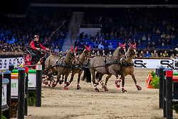 Voutaz Jerome, SUI, Belle du Peupe CH, Flore CH, Folie des Moulins CH, Leon<br /> Jumping Mechelen 2019<br /> © Hippo Foto - Dirk Caremans<br />  30/12/2019