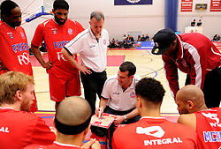 Time-out - Photo mandatory by-line: Paul Knight/JMP - Mobile: 07966 386802 - 30/01/2016 - BASKETBALL - SGS Wise Arena - Bristol, England - Bristol Flyers v Leeds Force - British Basketball League