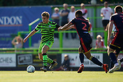 Kyle Taylor of Forest Green Rovers during the EFL Sky Bet League 2 match between Forest Green Rovers and Stevenage at the New Lawn, Forest Green, United Kingdom on 21 September 2019.