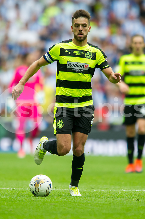 Tommy Smith of Huddersfield Town during the EFL Sky Bet Championship Play-Off Final match between Huddersfield Town and Reading at Wembley Stadium, London, England on 29 May 2017. Photo by Salvio Calabrese.