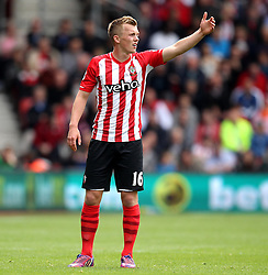 Southampton's James Ward-Prowse - Photo mandatory by-line: Robbie Stephenson/JMP - Mobile: 07966 386802 - 25/04/2015 - SPORT - Football - Southampton - ST Marys Stadium - Southampton v Tottenham Hotspur - Barclays Premier League
