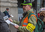 London 18.10.2014 'Britain needs a pay rise' TUC march & rally.