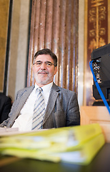 14.06.2017, Parlament, Wien, AUT, Parlament, Untersuchungsausschuss betreffend der Beschaffung von Kampfflugzeugen des Typs Eurofighter. im Bild Verfahrensrichter Ronald Rohrer // during meeting of parliamentary enquiry committee according to the procurement of Eurofighter aircrafts at austrian parliament in Vienna, Austria on 2017/06/14, EXPA Pictures © 2017, PhotoCredit: EXPA/ Michael Gruber