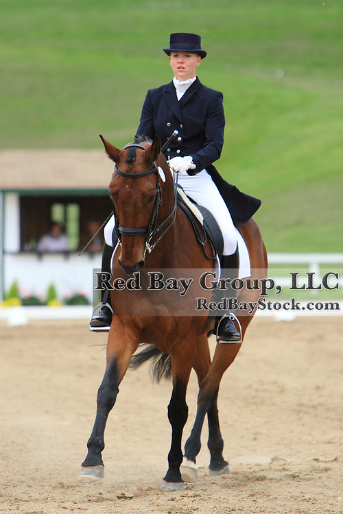 Esther Mortimer and Marco at the 2010 Equivents Spring Classic in Milton, Ontario.