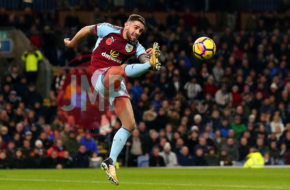 Caption Correction: Robbie Brady of Burnley tries to control the ball - Mandatory by-line: Robbie Stephenson/JMP - 30/10/2017 - FOOTBALL - Turf Moor - Burnley, England - Burnley v Newcastle United - Premier League