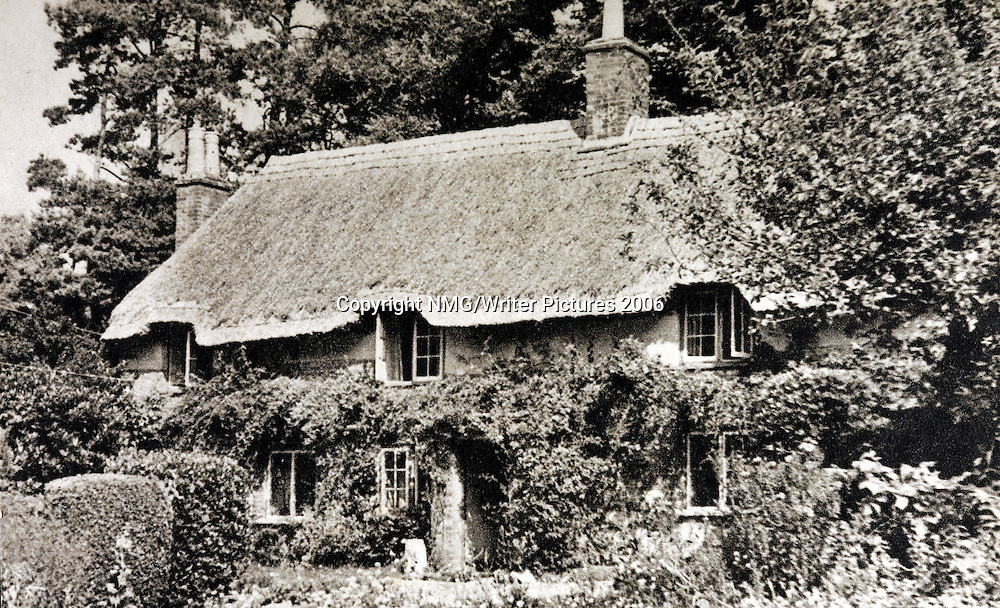 Thomas Hardy's birthplace, Brockhampton, Dorset.<br />