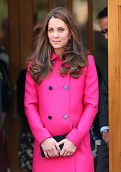 Kate, Duchess of Cambridge at Christ Church Gipsy Hill in south east London, UK. 27/03/2015<br /> BYLINE MUST READ : JAMESY/GOTCHA IMAGES<br /> <br /> Copyright by © Gotcha Images Ltd. All rights reserved.<br /> Usage of this image is conditional upon the acceptance <br /> of Gotcha Images Ltd, terms and conditions available at<br /> www.gotchaimages.com