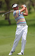 SUN CITY, SOUTH AFRICA - 3 December 2009. Robert Allenby of Australia plays an approach shot during the first round on Thursday, 3 December 2009 of the Nedbank Golf Challenge at Sun City..Photographer : Anton de Villiers/SPORTZPICS