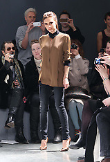 FEB 12 2013 Victoria by Victoria Beckham show at New york Fashion Week A/W 13