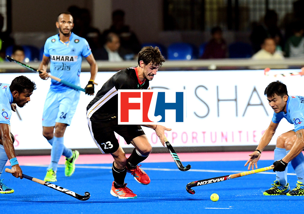 Odisha Men's Hockey World League Final Bhubaneswar 2017<br /> Match id:21<br /> India v Germany<br /> Foto: Florian Fuchs (Ger) <br /> COPYRIGHT WORLDSPORTPICS FRANK UIJLENBROEK