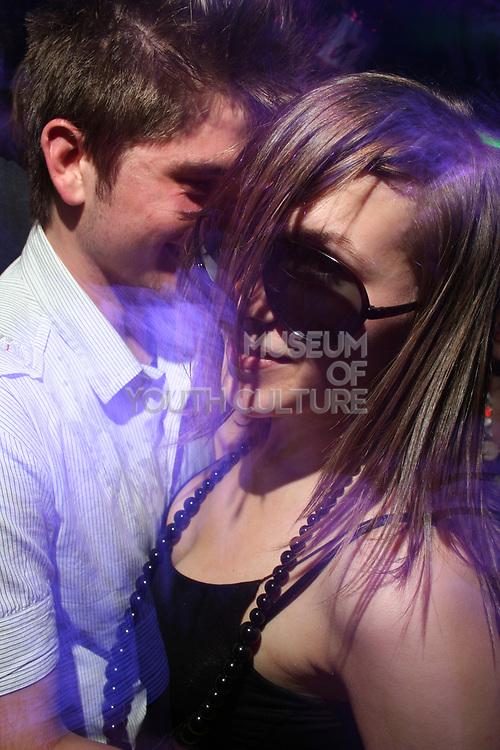 Couple on the dancefloor, Masonic Place, Nottingham.