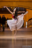 Dance As Art The New York City Photography Project Grand Central Series with ballerina Erin Aslami
