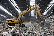 CAT 324D L working at SITA Recycling Services, Rotterdam.
