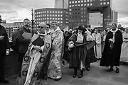 Bishop of Southwark, Bishop of Lambeth, , Mayor of Southwark, The Blessing of the river, St. Magnus the Martyr and Southwark Cathedral join on London Bridge to Bless the river Thames. 13 January 2019