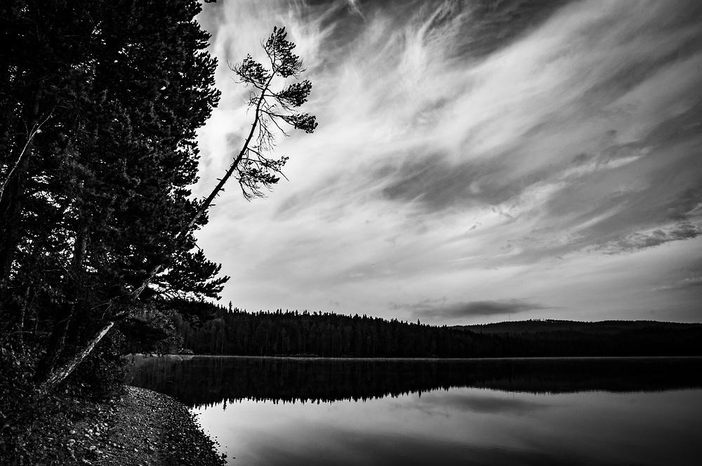 Vid sjöarna Malingarna i Dalarna