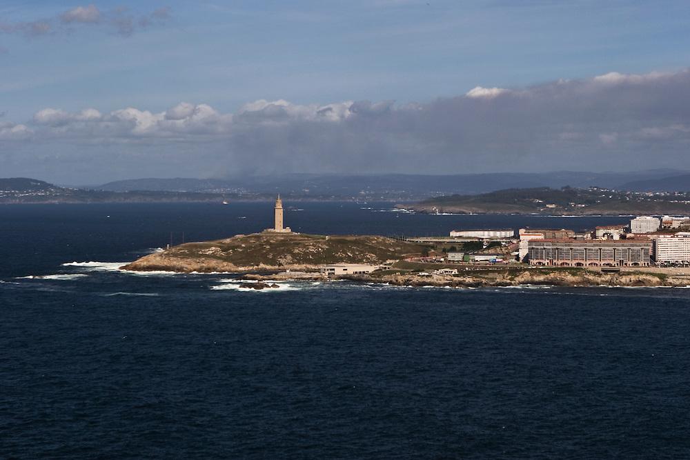 Torre de H&eacute;rcules, A Coru&ntilde;a, Espa&ntilde;a.<br /> Hercules Lighthouse, A Coruna, Spain.