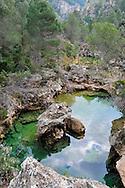 Parrisal de Beceite, an wonderful walk next to the river Matarrana, a changing riverand with beautiful flora and fauna around it.