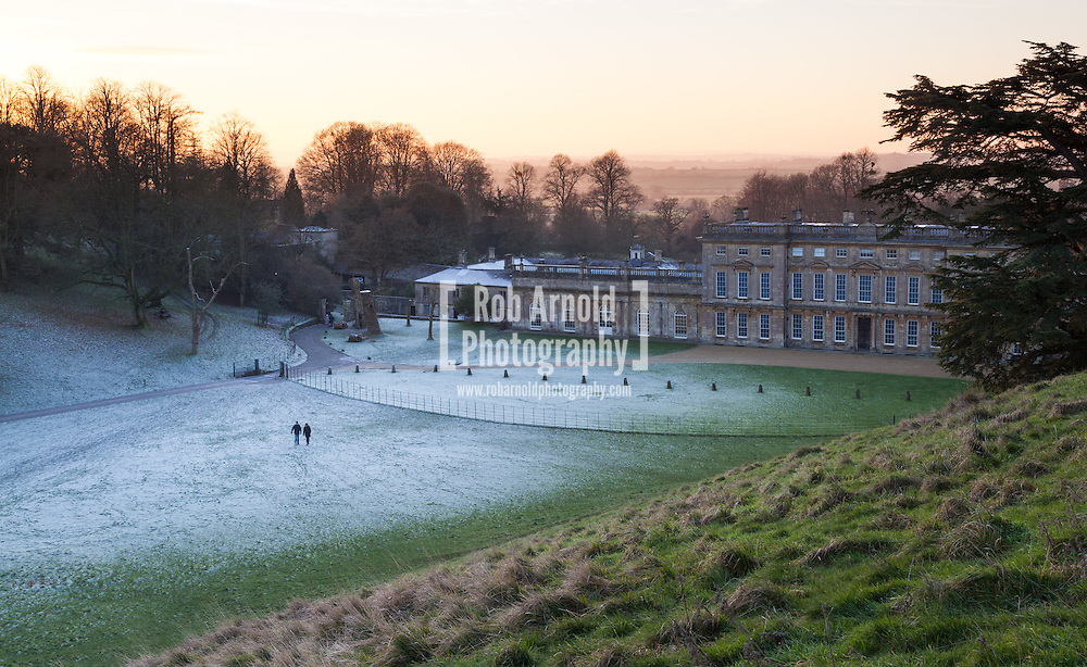 Dusk at Dyrham Park in South Gloucestershire
