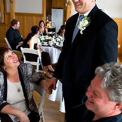 Wedding of Nichole & Will at Emmanuel Episcopal Church, Orcas Island, San Juan Islands, Washington