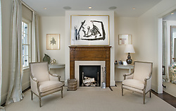 1242 Potomac Washington DC Frank Babb Randolph Designer Home Living Room