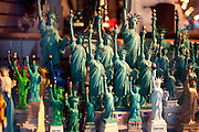 NEW YORK, NY - February 16:  Statues of the the Statue of Liberty on February 16, 2012 in NEW YORK, NY.  (Photo by Michael Bocchieri/Bocchieri Archive)