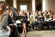 MIUCCIA PRADA, Turner Prize 2010. Tate Britain. Millbank. London. 6 December 2010. -DO NOT ARCHIVE-© Copyright Photograph by Dafydd Jones. 248 Clapham Rd. London SW9 0PZ. Tel 0207 820 0771. www.dafjones.com.