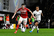 Paddy McNair (17) of Middlesbrough on the attack during the EFL Sky Bet Championship match between Fulham and Middlesbrough at Craven Cottage, London, England on 17 January 2020.