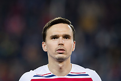 March 23, 2019 - Valencia, SPAIN - 190323 Ole Kristian Selnæs of Norway ahead of the UEFA Euro Qualifier football match between Spain and Norway on March 23, 2019 in Valencia..Photo: Fredrik Varfjell / BILDBYRÃ…N / kod FV / 150220 (Credit Image: © Fredrik Varfjell/Bildbyran via ZUMA Press)