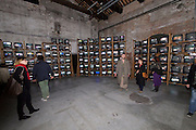 "55th Art Biennale in Venice - The Encyclopedic Palace (Il Palazzo Enciclopedico).<br /> Arsenale.<br /> Dieter Roth (Switzerland). ""Solo Szenen (Solo Scenes)"", 1997-98."