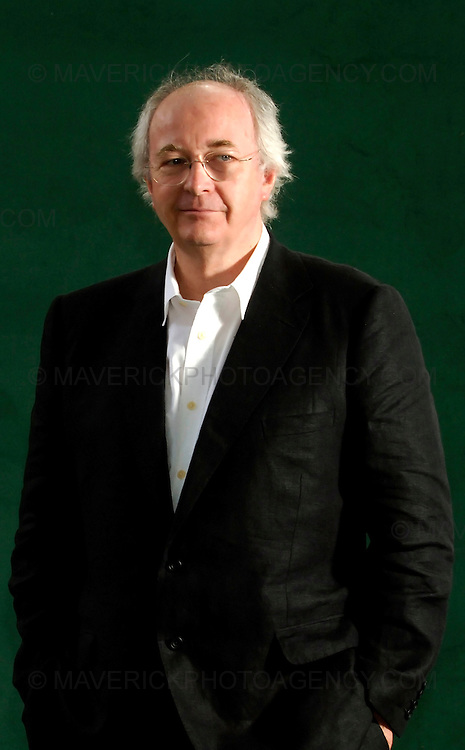 EDINBURGH, UK - 14th August 2010: Author coverage of The Edinburgh International Book Festival 2010 at Charlotte Square in Edinburgh...Picture shows author of His Dark Materials trilogy Phillip Pullman...(Photograph: Richard Scott/MAVERICK)