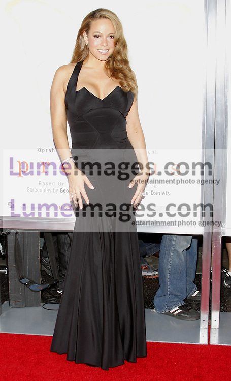HOLLYWOOD, CA - NOVEMBER 01, 2009. Mariah Carey at the AFI FEST 2009 Screening of 'Precious' held at the Grauman's Chinese Theater in Hollywood, USA on November 1, 2009.