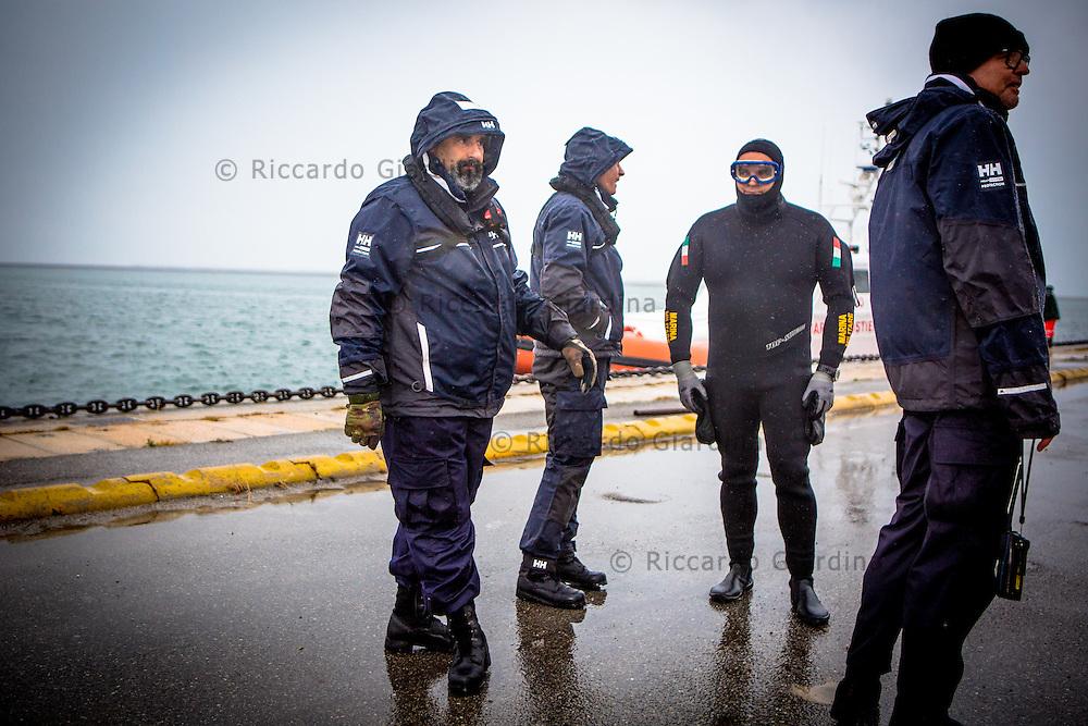 08/05/2016 - Marina Militare, Comsubin - 2016 Cagliari ITU Triathlon World Cup - Rescue Staff at 2016 Cagliari ITU Triathlon World Cup -