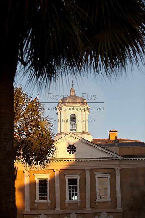 Old Exchange Building and Provost Dungeon in Charleston, SC.