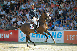 Billot Mathieu, (FRA) Shiva D Amaury<br /> CSIO Nations Cup - Mannheim 2015<br /> © Hippo Foto - Stefan Lafrentz