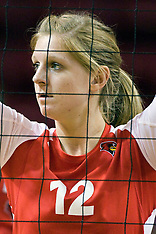 2012 Illinois State Redbirds Women's Volleyball Photos