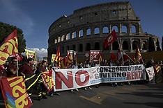 Italy: No Renzi day, 22 Oct. 2016