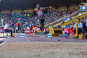 Daniel LEWIS competes in the Men's Long Jump during the Muller British Athletics Championships at Alexander Stadium, Birmingham, United Kingdom on 25 August 2019.