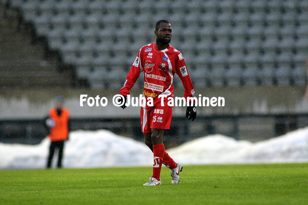 17.04.2010, Stadion, Lahti..Veikkausliiga 2010, FC Lahti - FF Jaro..Venance Z?z? - Jaro.©Juha Tamminen.
