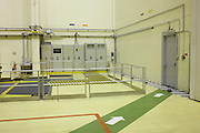 Electrical cable cabinets in Europropulsion's Booster Integration Building at European Space Agency's Kourou space center..